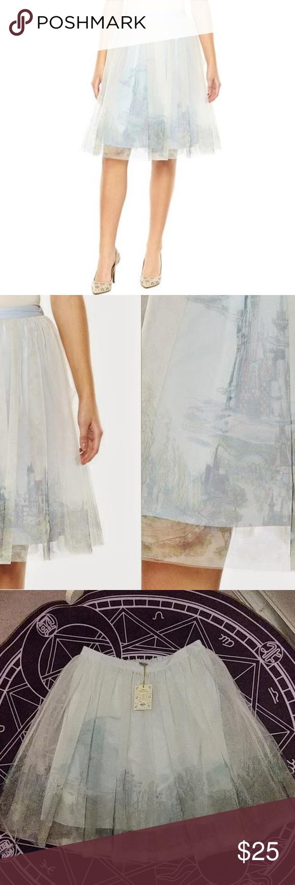 Lauren Conrad Cinderella Disney Tulle Skirt Medium   Full