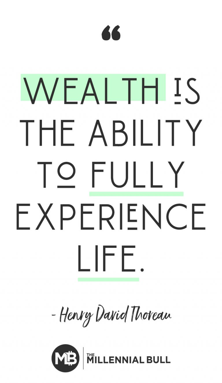38 Motivational Money Quotes for Inspiration  is the ability to fully experience life 634444666238916774