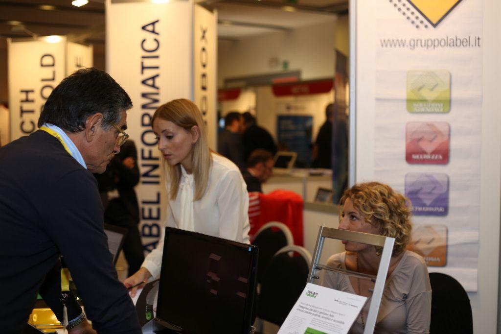 13° Forum Expo ICT Security presso il Crowne Plaza Convention Centre di Roma. @Gruppo Label