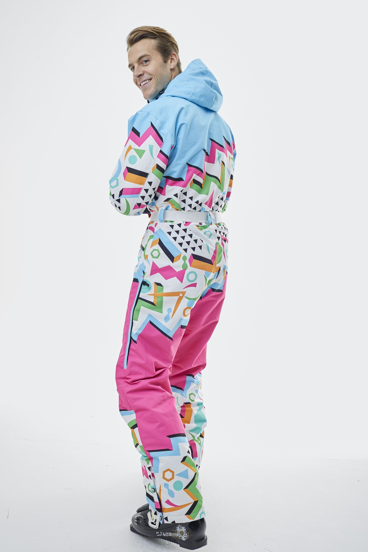 Nuts Cracker Multi Coloured Ski Suit Mens Unisex Oosc Clothing Ski Suit Mens Clothes Suits