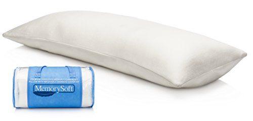 Luxury Memory Foam Body Pillow By Memorysoft Shredded Memory Foam