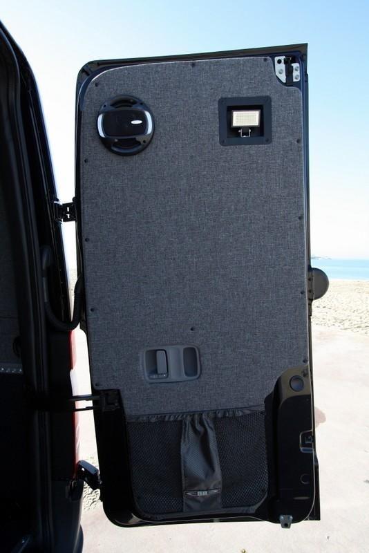 07 Sprinter Van Rear Door Panel Kit Full 1pc Upholstered Sprinter Van Mercedes Benz Vans Van