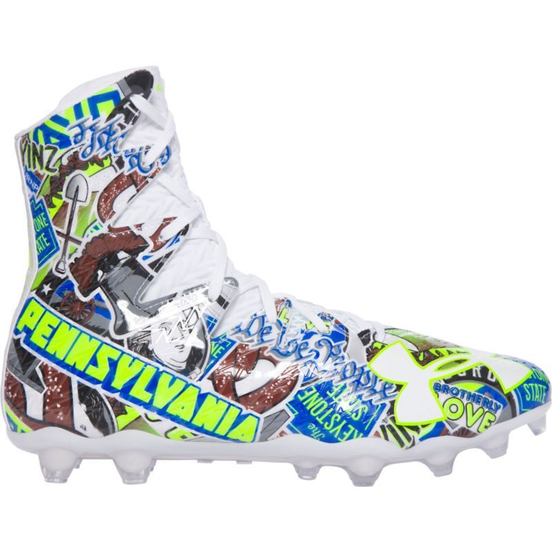 sports shoes 49117 17525 Under Armour Men s Highlight MC LE Football Cleats, Blue