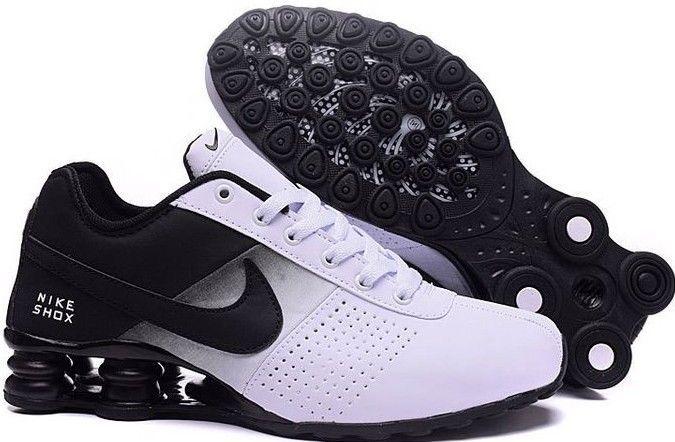 premium selection f577e adf89 Nike Shox Deliver Men Athletic Shoe Black and White Size 9.5  fashion   clothing