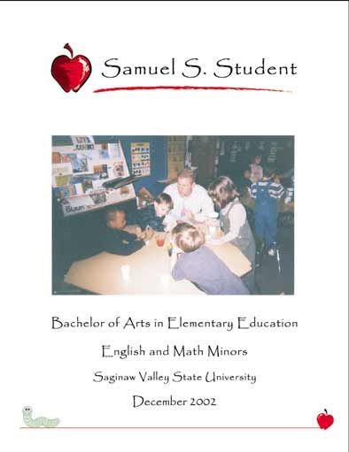 Teaching Portfolio Cover Page Teaching Portfolio Teacher Organisation Education