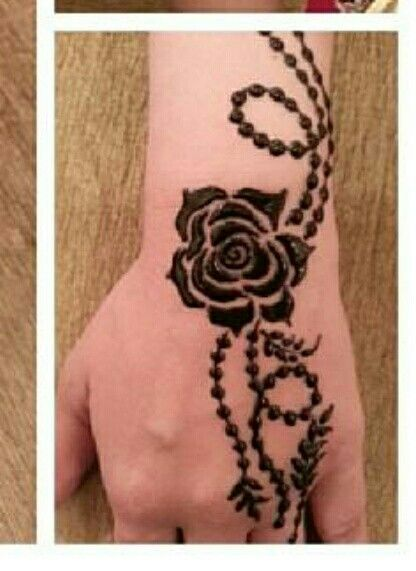Rose Mehandi It Looks Simple But Needs So Much Perfection And