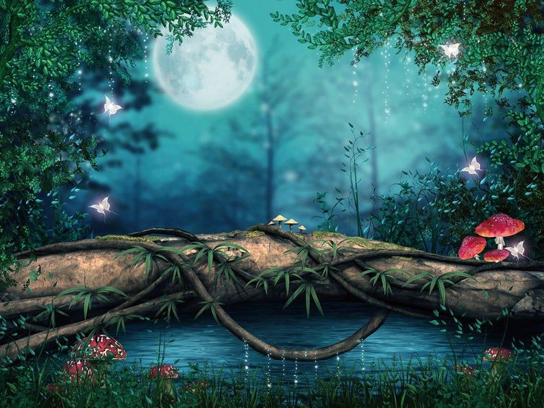 Chois Elves011 Custom Wall Decal Diy Fairy World With Etsy 3d Nature Wallpaper Nature Wallpaper Hd Nature Wallpapers Art photography wallpaper hd