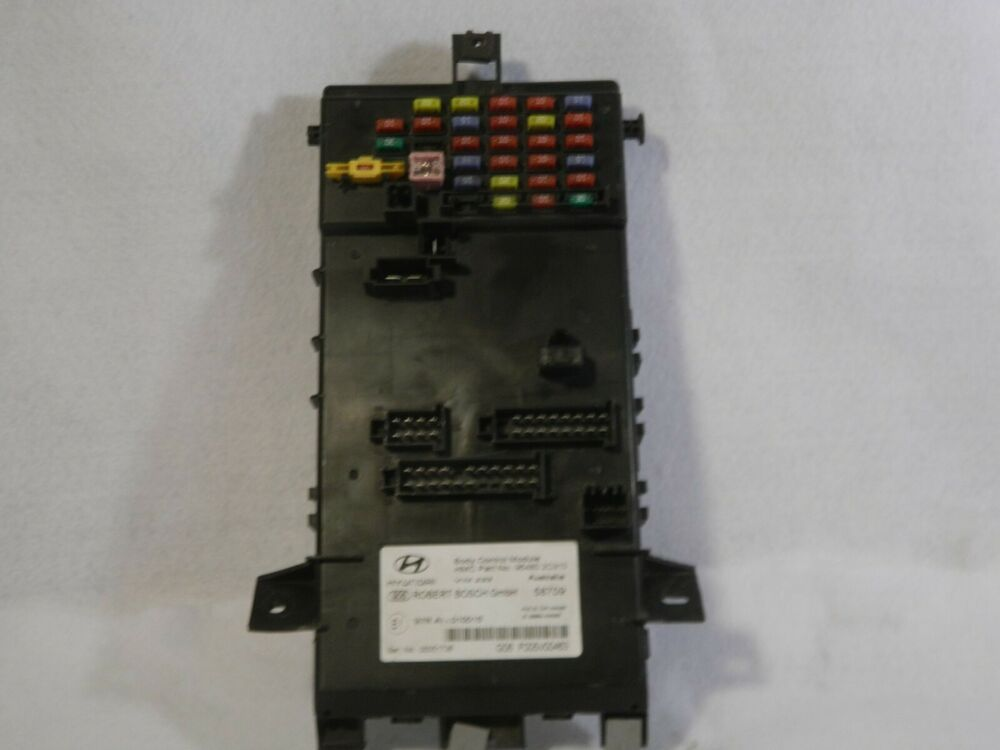 2005 08 Hyundai Tiburon Bcm 95480 2c310 Fuse Box Body Control