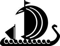 viking boat vector illustrations for the logo stock image rh pinterest ca