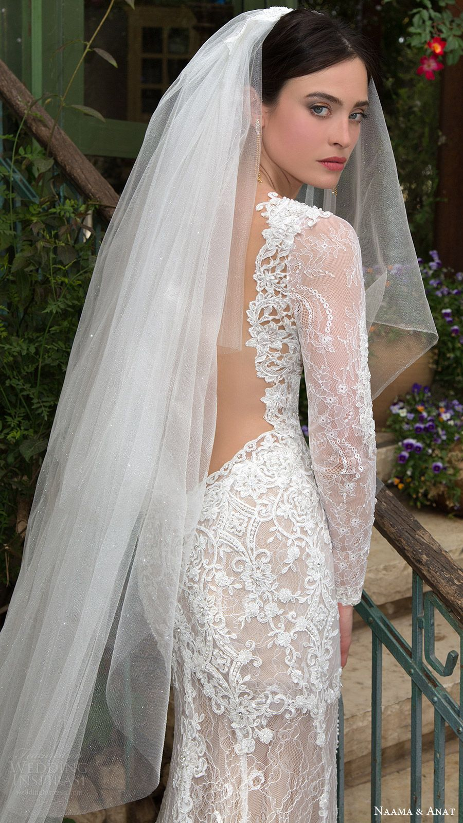 Cathedral length veil by Liancarlo. Gorgeous! | Vestidos ... |Beautiful Wedding Gowns With Veils