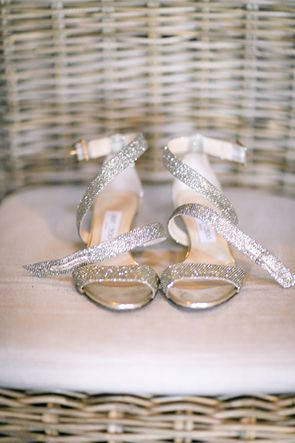 Sparkly And Strappy Jimmy Choo Sandals Photo By Julie Dreelin Sparkly Wedding Shoes Prom Heels Bridal Shoes