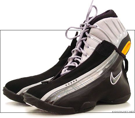 47cd6b6a714d6  Nike Air Zoom GP III. Sadly I wore these nastoids Jr. year for   basketball. I even bought at least one other sleeve for them too.  shoes