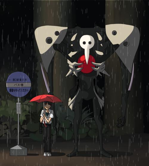 'famous' scene btw Sachiel and Shinji
