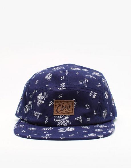 95aac0ef673 Obey   Yuma 5 Panel Hat