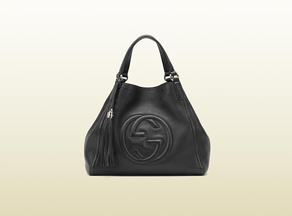 bolso de hombro soho de piel negra   Handbags and shoes   Bolsos ... 2197451506