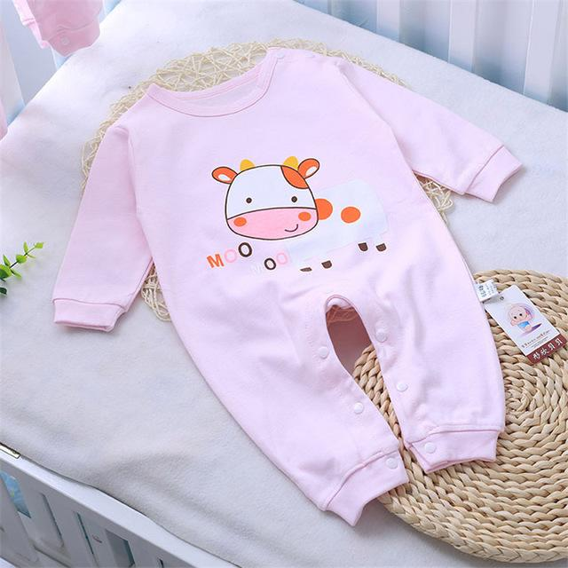 1ad1302ce1ca Cotton Baby Rompers Spring Baby Girl Clothes Cartoon Baby Boy ...
