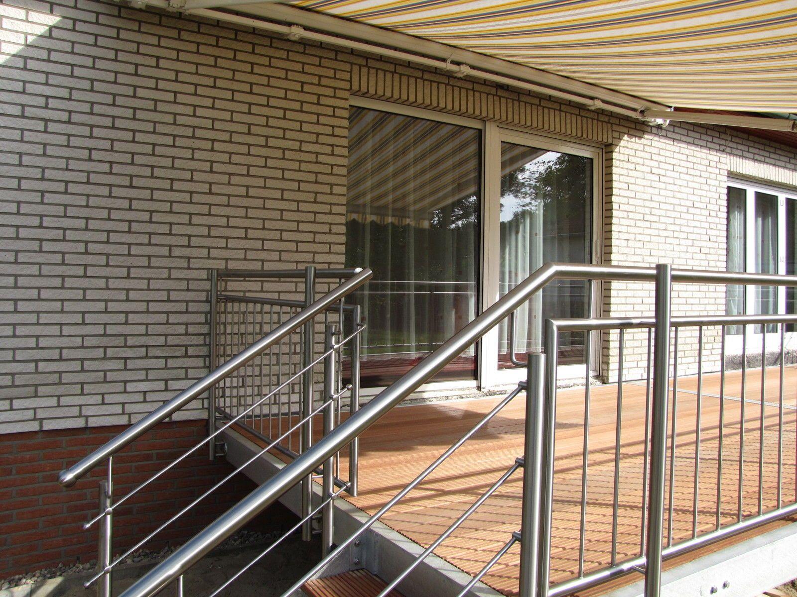 Gut bekannt Terrasse Balkon Anbaubalkon + Wangentreppe Außentreppe verzinkt UH18