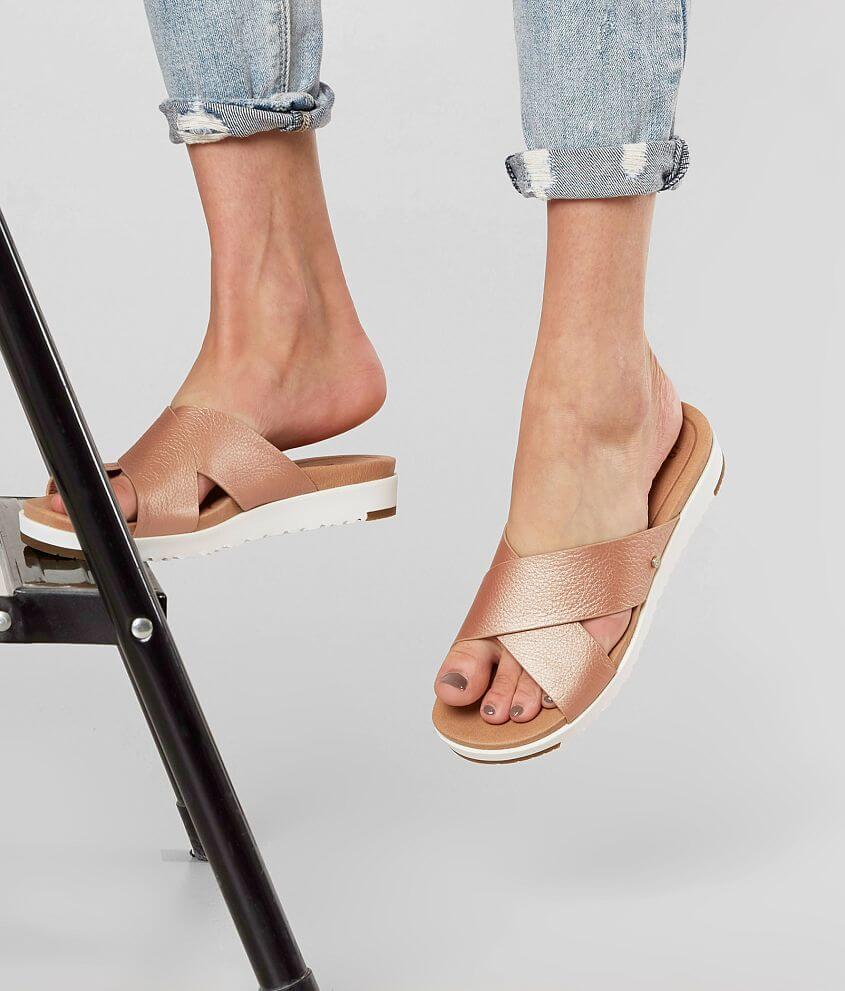 UGG® Kari Leather Sandal - Women's