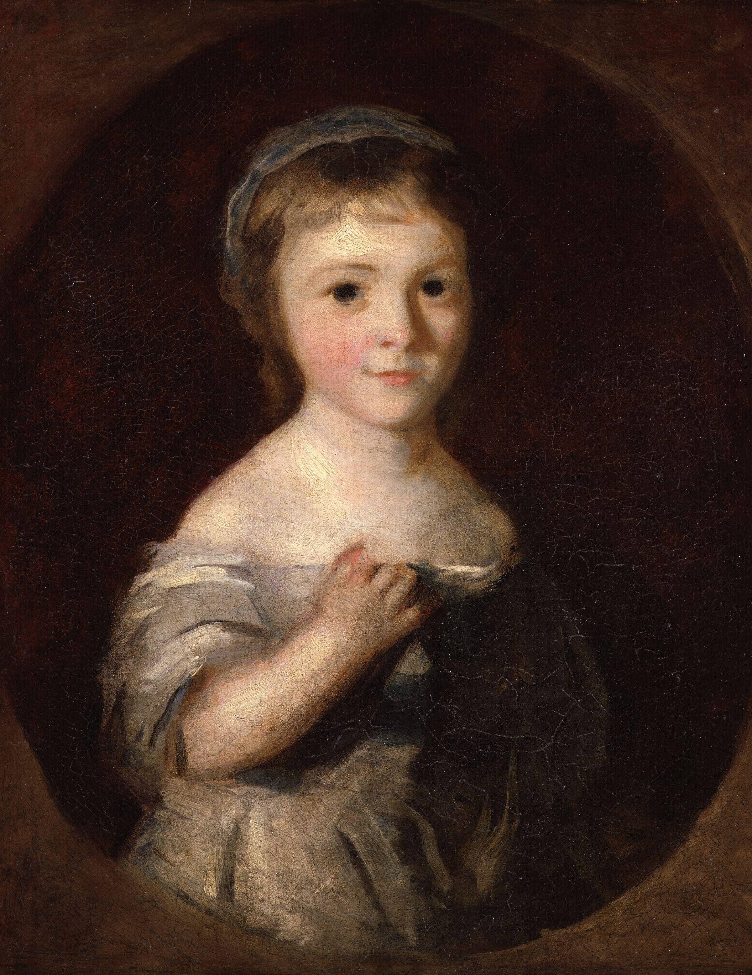 Sir Joshua Reynolds Portrait Of Lady Georgiana Spencer