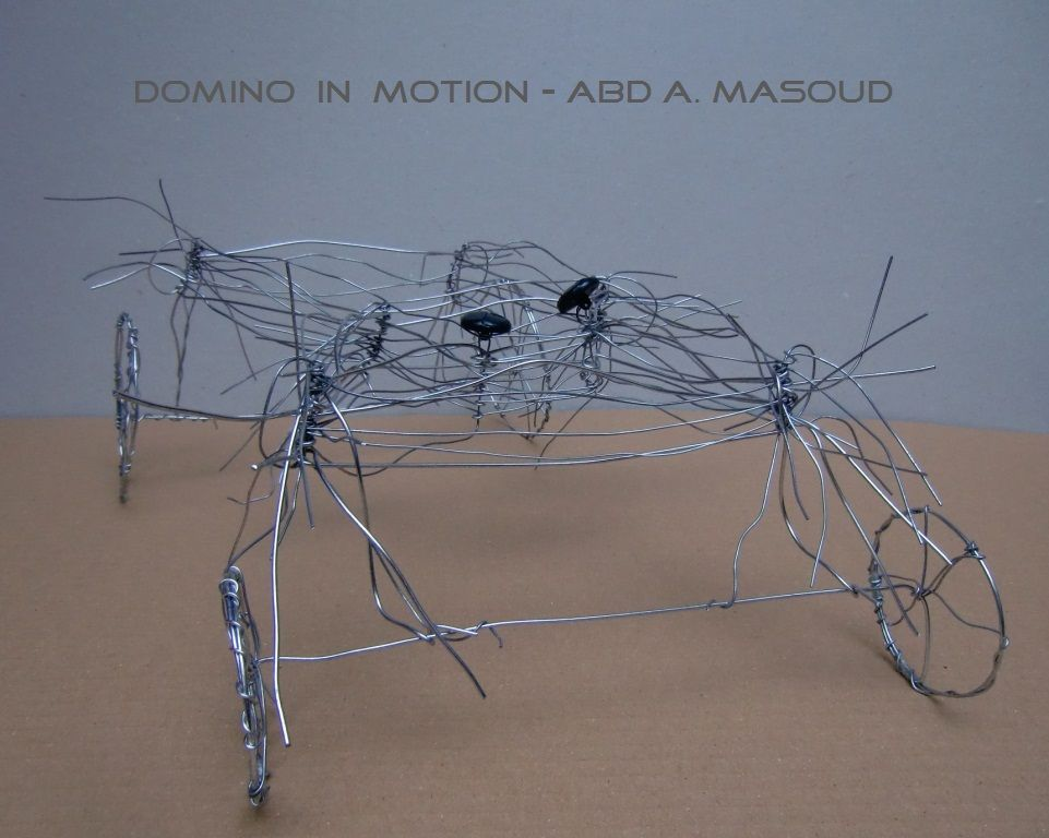 Domino In Motion 0:2# domino in motion# Abd A Masoud# Rearte ...
