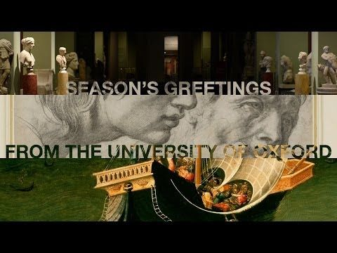 Seasons Greetings From The University Of Oxford YouTube
