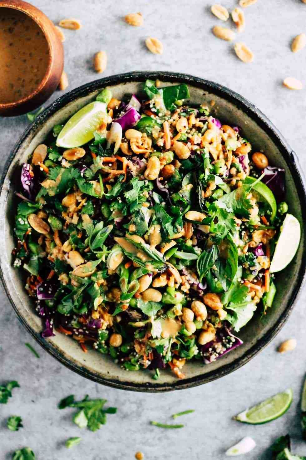 Spicy Edamame Crunch Salad Recipe Edamame Salad Edamame