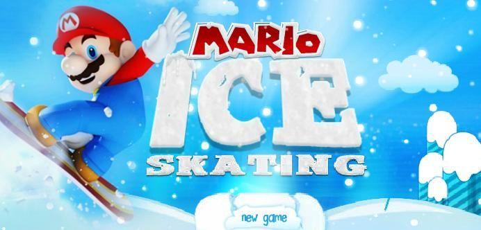 Mario Ice Skating Best Games Friv Kizi Yepi Ice Skating Games Ice Skating Skate