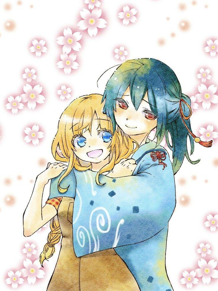 Holly x Yuzuki Anime, Harvest moon, Harvest