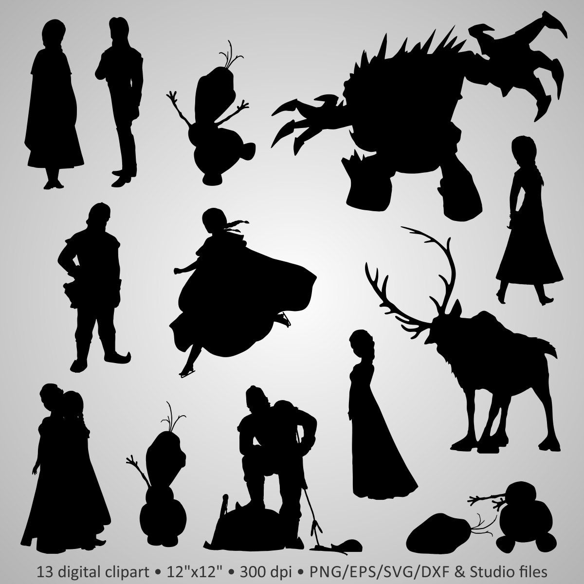 Olaf Silhouette - Google Search
