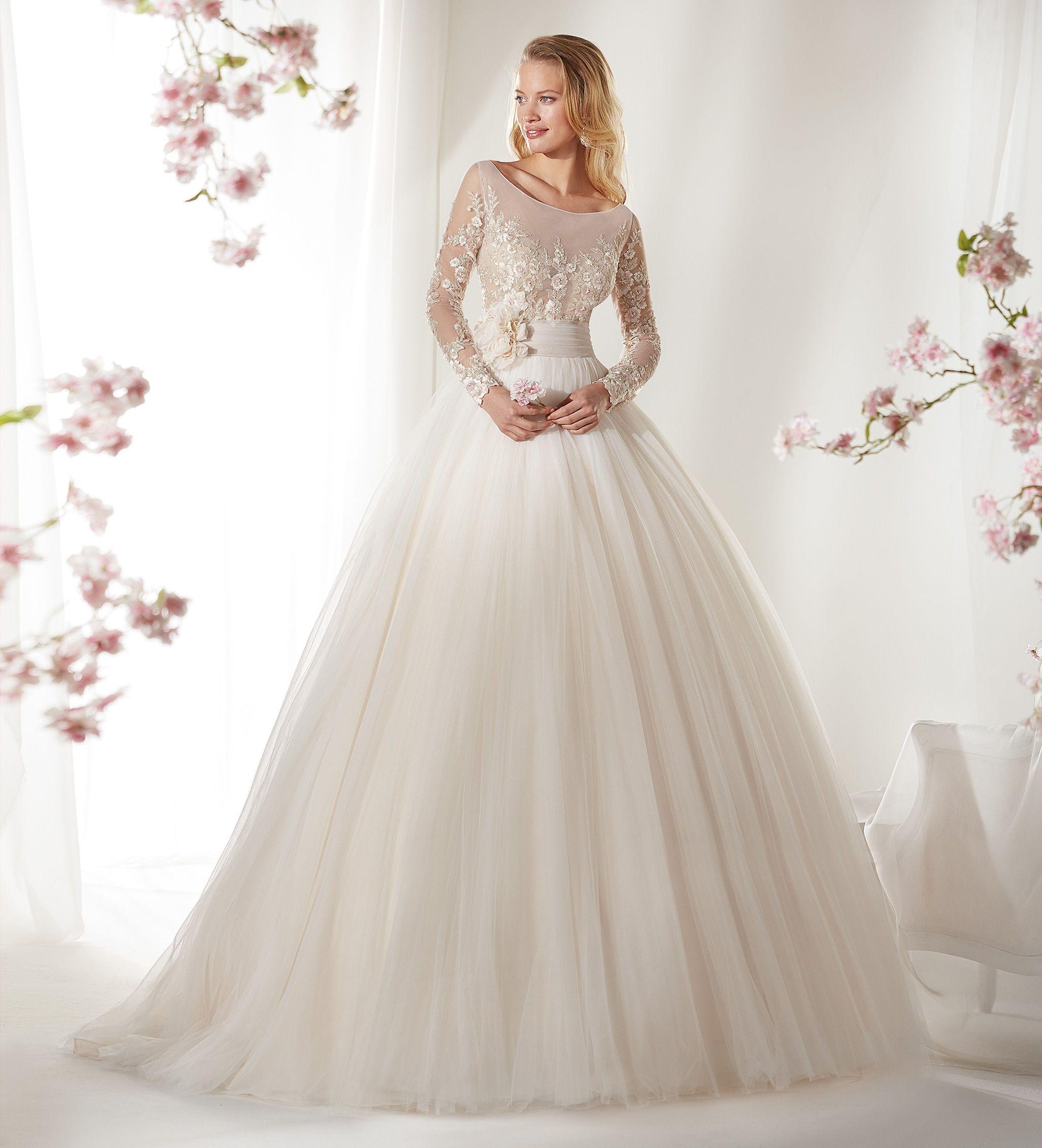 Moda sposa 2019 - Collezione COLET. COAB19291. Abito da sposa Nicole ... eacb67cd252