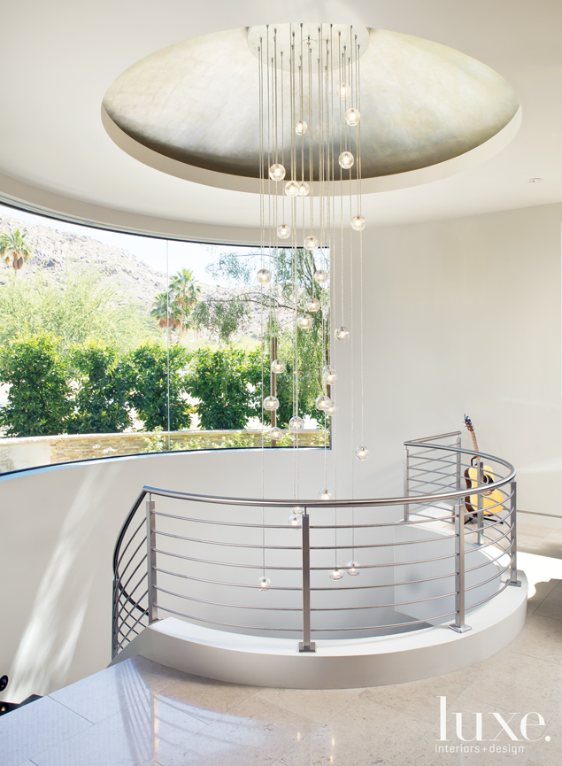 Best This Wide Spiral Staircase Is Capped With A Custom 640 x 480