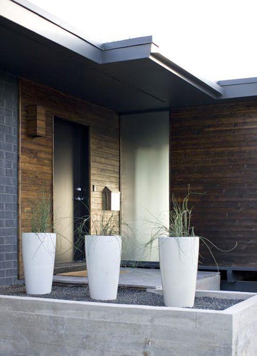accesos modernos en casas