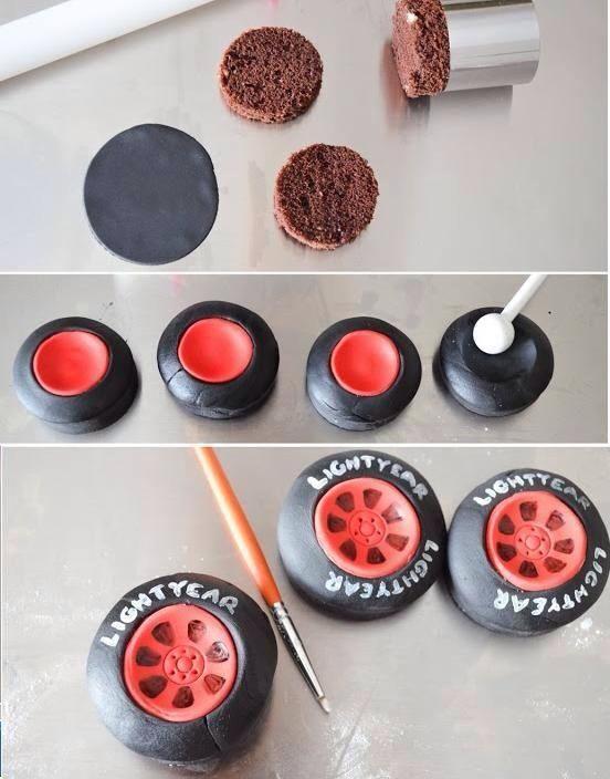 Fabuleux tuto roue | Tuto moyen de locomotion | Pinterest | Tuto, Sucre et  BB91
