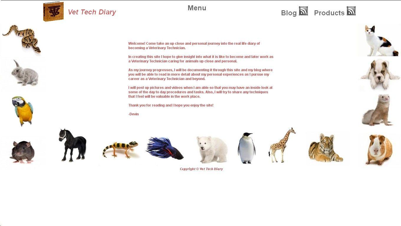 Diary of a Vet Tech http://vettechdiary.com  by Netdatabiz.com