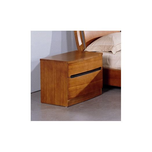 Best Beverly Hills Furniture Maya 2 Drawer Nightstand 400 x 300