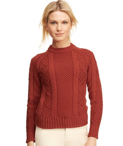 Cotton Fisherman Sweater: SWEATERS | Free Shipping at L.L.Bean ...