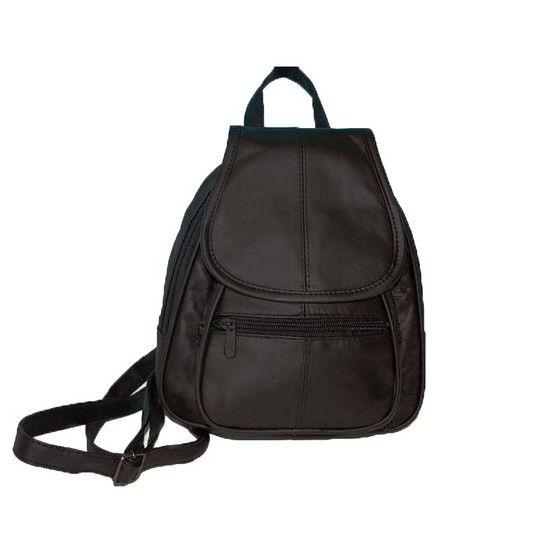 Mochila pequeña para mujer, mochila pequeña de cuero, bolso de hombro, mochila de cuero
