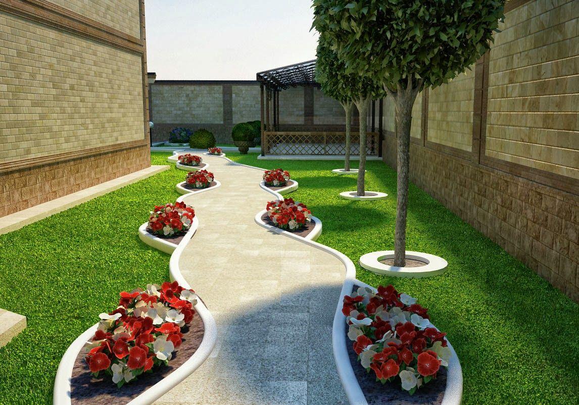 Фото беседок или дизайн двора около дома 96