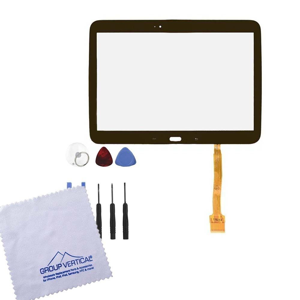 Group Vertical® Black Touch Screen Display Digitizer Front