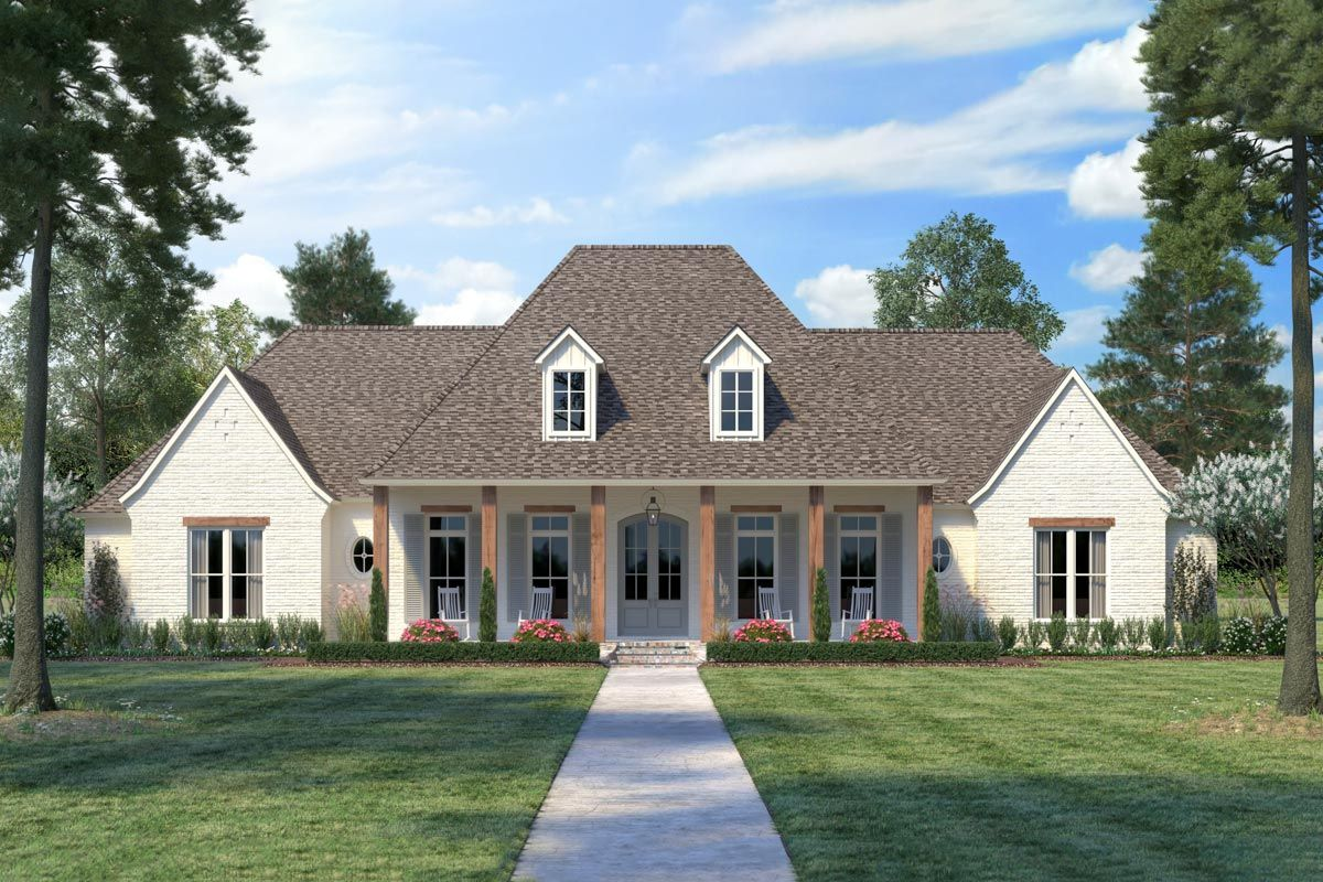 Plan 56475SM: Eye-Catching French Country House Plan with ...