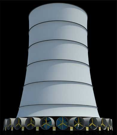 Solar Wind Tower Could Rival Hoover Dam In Power Output Solar