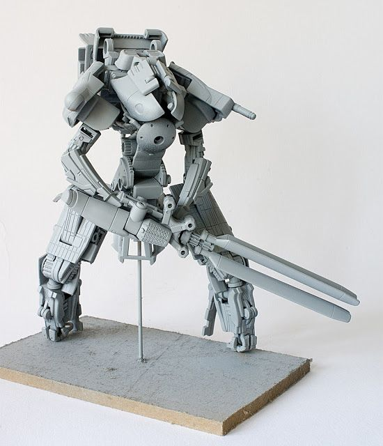 Gavin Lee Manners : Creations: Maquette Building 02
