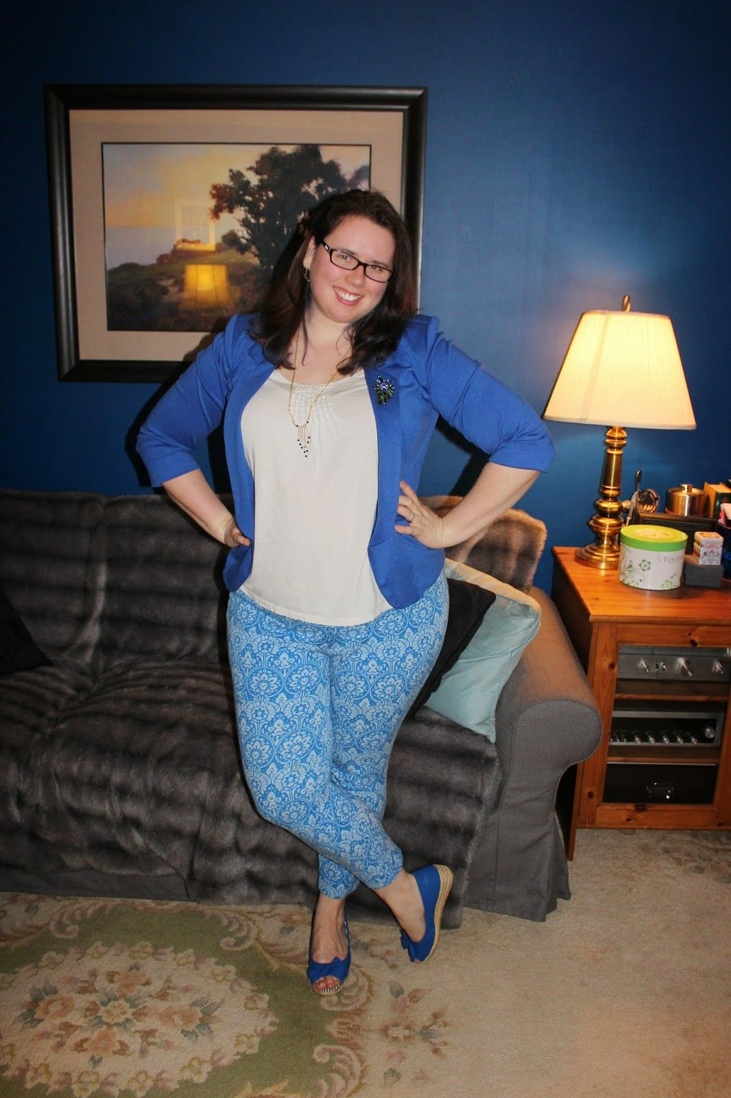 What Mama Wears: Got the blues!
