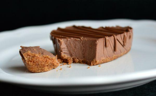Nydelig sjokolade-ostekake (Bakekona)