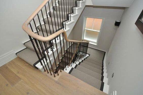 Best Wool Loop Carpet Stair Runner With Cotton Binding Tape 400 x 300