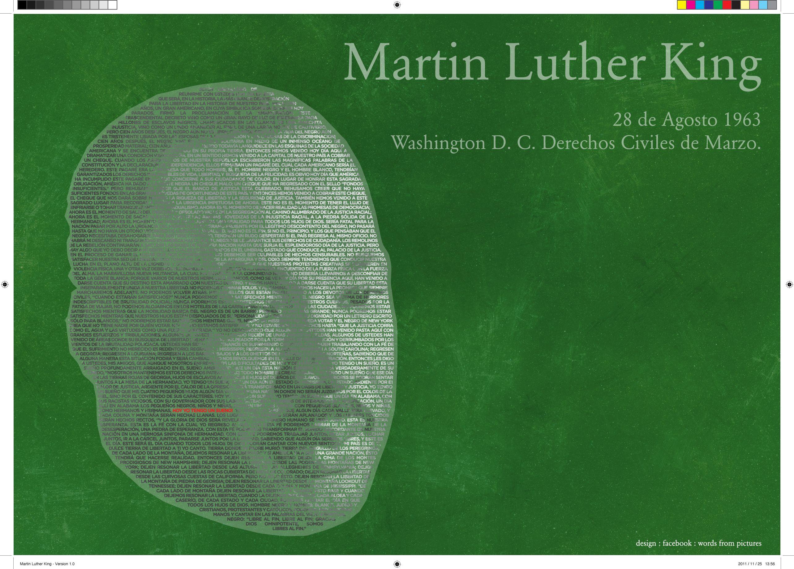 Martin Luther King - Yo tengo un sueño