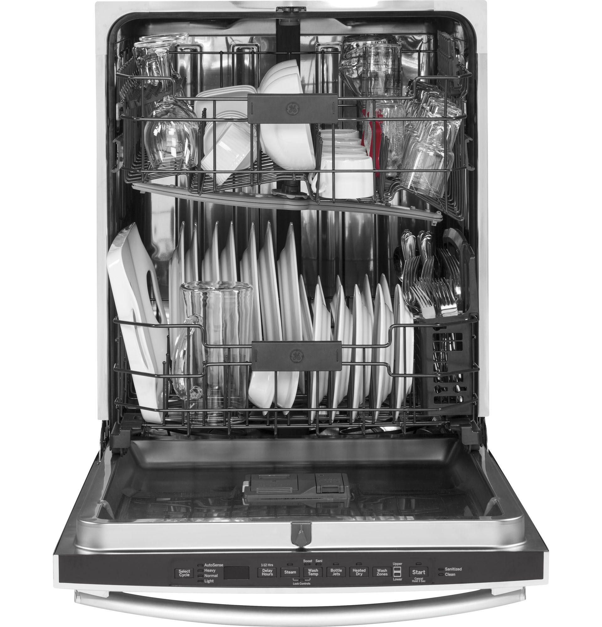 Ge Appliances Gdt655ssjss 24 In Built In Dishwasher W Piranha
