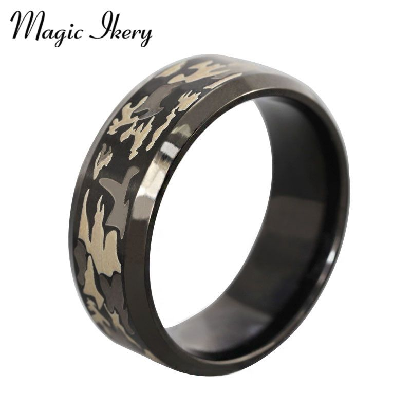 Magic Ikery Stainless Steel Ethnic Men Jewelry Titanium steel