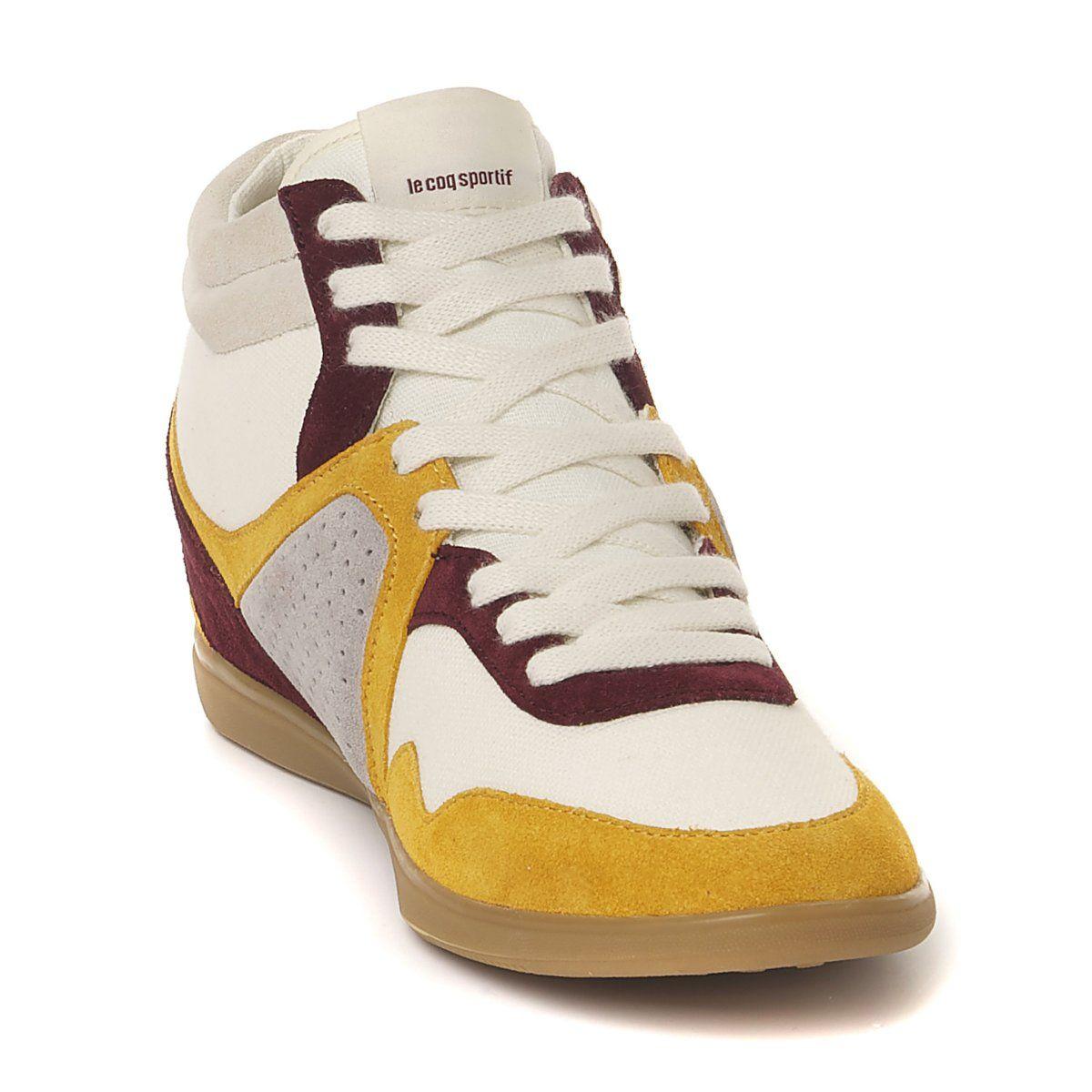 73e63c74c0c8 Le Coq Sportif Leather Sneakers - Available on La Redoute.com ...