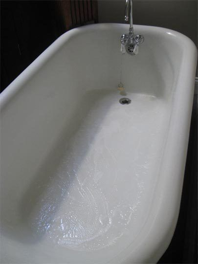 Exceptionnel How To Clean A Porcelain Bathtub Or Sink